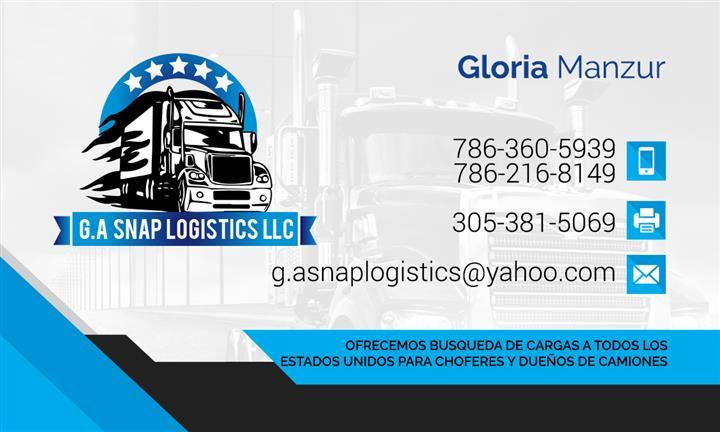 G.A SNAP LOGISTICS LLC image 1