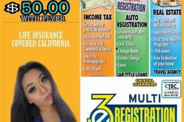 3E MULTI REGISTRATION SERVICES en Los Angeles County