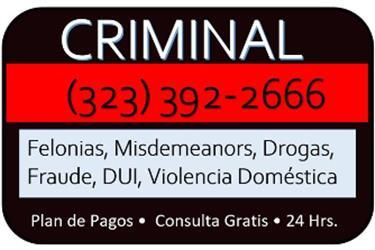 CASOS DE DROGAS en Los Angeles County