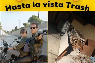 Recogemos todo tipo de basura en Los Angeles