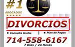 *DIVORCIOS */* CONSULTA GRATIS en San Bernardino County