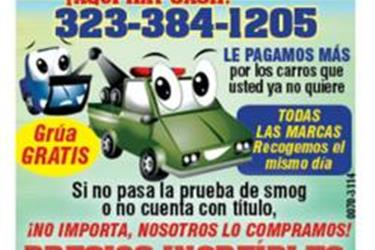 $$$COMPRO TU CARRO$$$ en Orange County