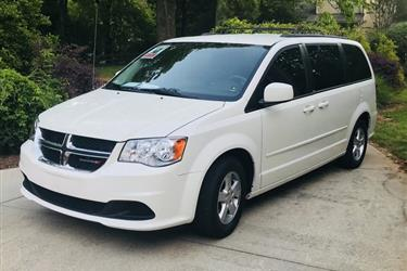 2013 DODGE GRAND CARAVAN SXT en Los Angeles