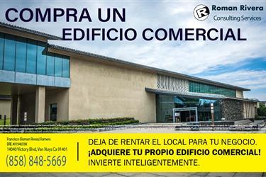 COMPRA UN EDIFICIO COMERCIAL en Los Angeles County