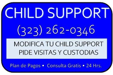 CUSTODIA*CHILD SUPPORT*VISITAS en Los Angeles