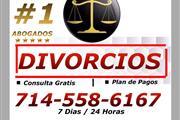 ♦♦♦█♦ DIVORCIOS/ PLAN DE PAGOS en Orange County