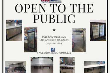 Commercial Kitchen Equipment f en Los Angeles