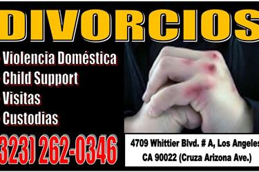 VISITAS*CHILD SUPPORT*CUSTODIA en Los Angeles