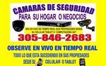 CAMARAS DE VIGILANCIA CCTV en Miami