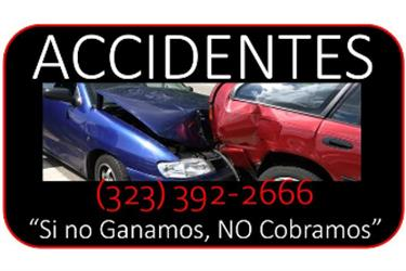 ACCIDENTE EN TRABAJO► en Los Angeles