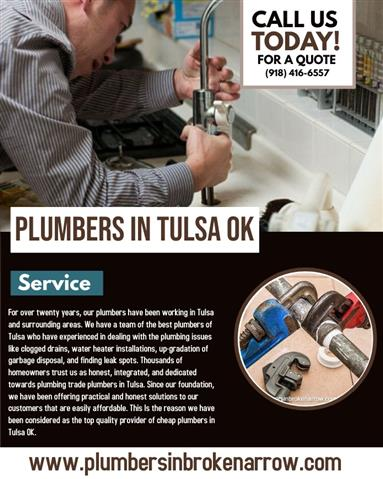 Best And Cheap Plumbers Tulsa image 1