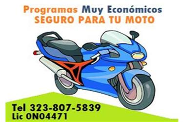 SEGURO PARA MOTO & SCOTERS en Los Angeles