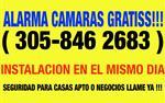 CAMARA CON ALARMA GRATISS!!😎 en Miami