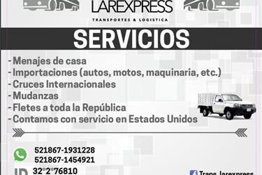 MUDANZAS DE CASA,ENVIOS A MEX! en Dallas