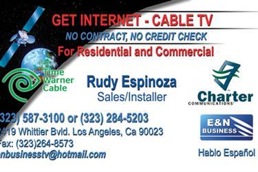 Internet-Telefo-Cable- Negocio en Imperial County
