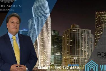 Aston Martin-Apartamentos en Miami