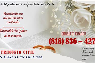 MATRIMONIOS / LOS ANGELES en Los Angeles County