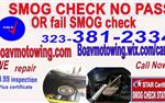 smog test only en Los Angeles