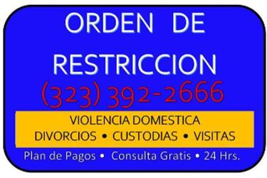 DIVORCIOS LOS 7 DIAS en Los Angeles County