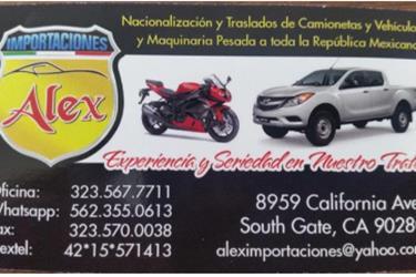 ALEX IMPORTACIONES 81 A 2013 en Santa Barbara