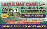 $$$ CASH 4JUNKS CARS $$$ CASH en Los Angeles
