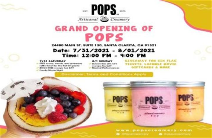 POPS GRAND OPENING image 1