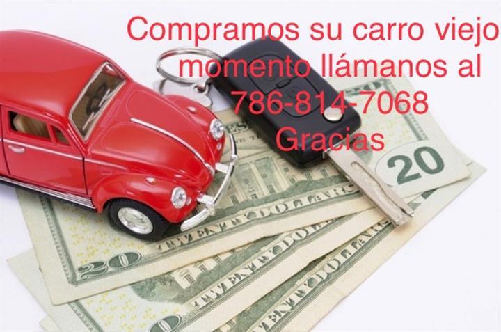 COMPRO CARROS RASTRO VIEJOS $$ image 1