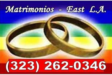 MATRIMONIOS^APOSTILLADO^NOTARY en Los Angeles