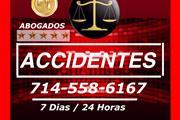 ○♦/ ACCIDENTES: LLAME 714-558-6167 PARA MAS INFOR