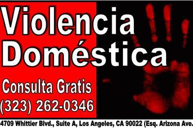 ORDEN DE RESTRICCION? FELONIAS en Los Angeles
