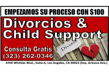 REDUCCION DE CHILD SUPPORT en Los Angeles