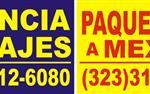 VIAJES Y PAQUETERIA A MEXICO en Los Angeles County