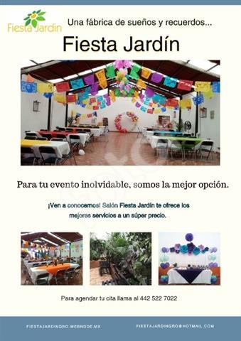 Salón Fiesta Jardín Querétaro image 3