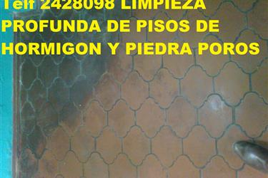 LIMPIEZA DE PISOS DE PIEDRA PO en Quito