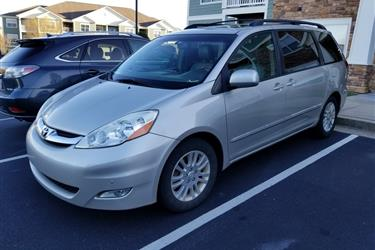 2010 TOYOTA SIENNA LTD en Los Angeles