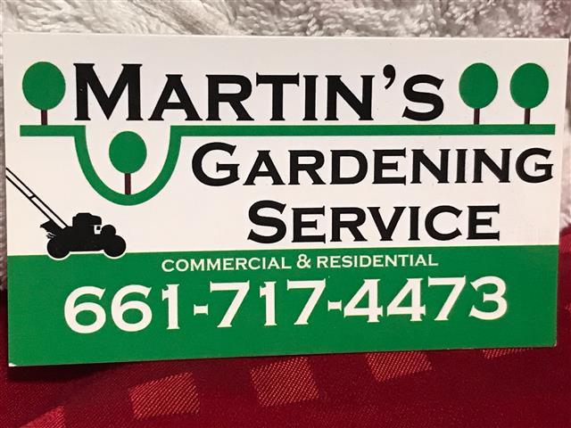 Martin's Gardening Service image 1