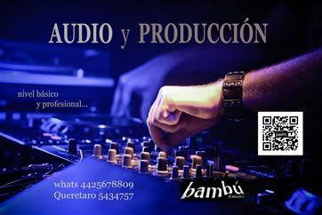 AUDIO Y PRODUCCIÓN / clases image 1