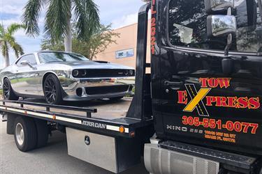 Grua Tow Truck Towing remolque en Miami