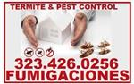 FUMIGADOR (323)426-0256 en Los Angeles