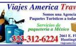 Agencia de Viajes y Paqueteria en Los Angeles