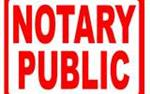 NOTARY PUBLIC en Los Angeles County