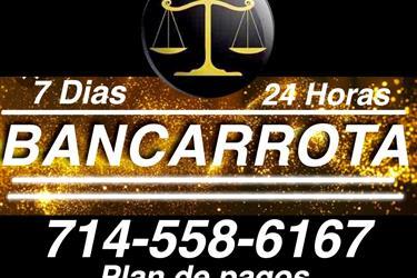 ♦•♦• BANCARROTAS LAS 24 HORAS en Orange County