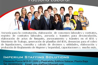 ASESORÍA LABORAL, CONSULTORÍA en Quito