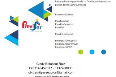 Afiliacion a Previser en Pereira