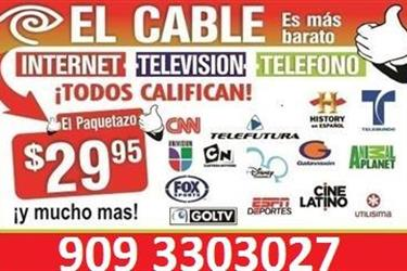 CABLE E INTERNET, SATELLITE en Los Angeles County