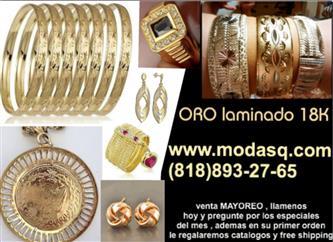 $3 : oro Laminado 18K brasileño +++ image 1