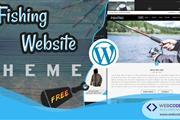 Free Fishing WordPress Theme en London