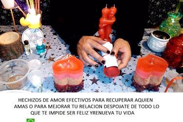 Amares de amor Luz Magia Roja en Campeche