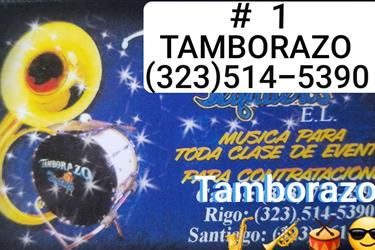 TAMBORAZO LOS TEQUILEROS #1 en Los Angeles