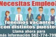 Buscas un empleo hoy?